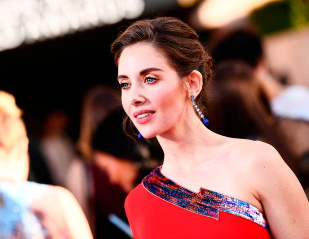 Alison Brie attends the 24th Annual Screen Actors Guild Awards at The Shrine Auditorium on January 21, 2018 in Los Angeles, California. (Photo by Emma McIntyre/Getty Images for Turner Image)