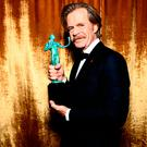 William H. Macy, winner of the Outstanding Performance by a Male Actor in a Comedy Series for 'Shameless,' attends the 24th Annual Screen Actors Guild Awards at The Shrine Auditorium on January 21, 2018 in Los Angeles, California. 27522_011 (Photo by Emma McIntyre/Getty Images for Turner Image)
