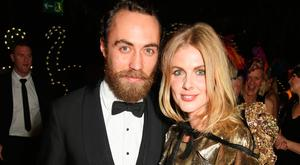 James Middleton (L) and Donna Air attend The Animal Ball 2016 presented by Elephant Family at Victoria House on November 22, 2016 in London, England. (Photo by David M. Benett/Dave Benett/Getty Images for Elephant Family)