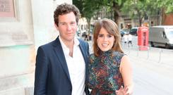 Jack Brooksbank and Princess Eugenie of York attend the V&A summer party at The V&A on June 21, 2017 in London, England. (Photo by Chris Jackson/Getty Images)