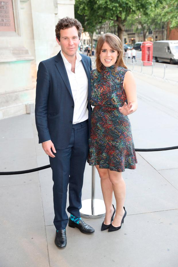 86b2fbd35893 Jack Brooksbank and Princess Eugenie of York attend the V&A summer party at  The V&A on