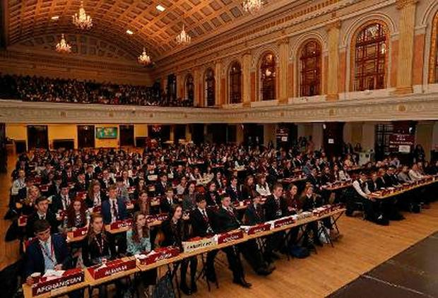 Ireland's largest Model United Nations, organised by Davis College, Mallow