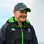 7 November 2017; Head coach Joe Schmidt during Ireland rugby squad training at Carton House in Maynooth, Kildare. Photo by Brendan Moran/Sportsfile