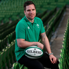 Ireland women's coach Adam Griggs hopes the IRFU will make his position a full-time job again Photo: INPHO/Dan Sheridan
