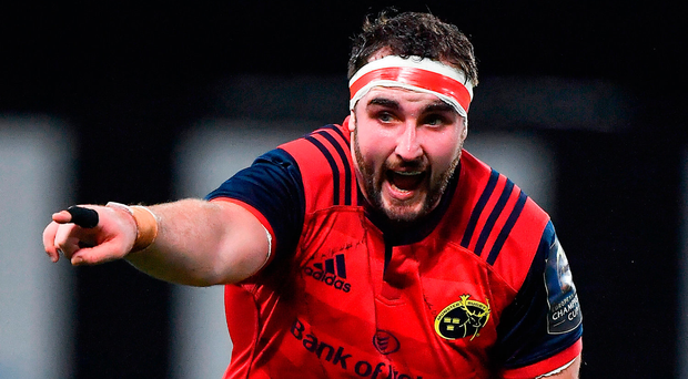 Munster's James Cronin flew out with the Ireland squad to Spain yesterday Photo: Brendan Moran/Sportsfile