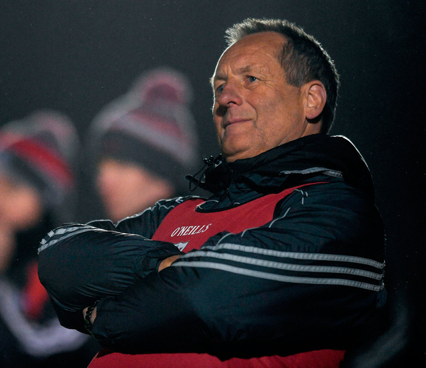 John Meyler is hoping to learn from the hectic schedule of professional football to maximise the potential of Cork's hurlers Photo: Eóin Noonan/Sportsfile