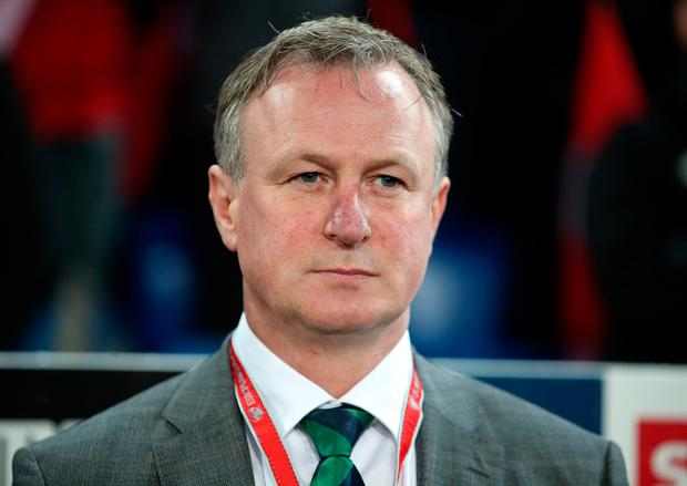 Northern Ireland manager Michael O'Neill. Photo: PA.