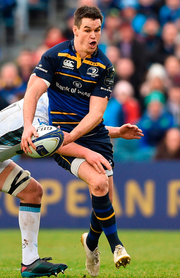 Leinster's Johnny Sexton Photo: David Fitzgerald/Sportsfile