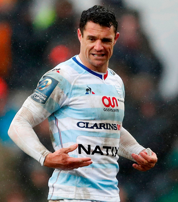 Racing's Dan Carter Photo: Reuters/Andrew Boyers