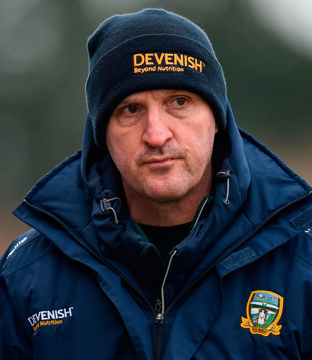 Meath manager Andy McEntee Photo: Seb Daly/Sportsfile