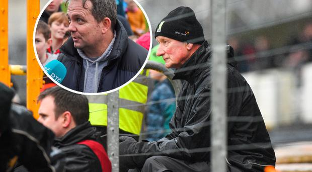 Brian Cody and (inset) Davy Fitzgerald