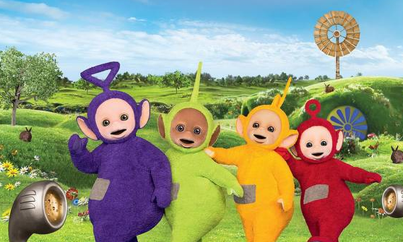 The Teletubbies, Tinky Winky, Dipsy, Laa-Laa and Po