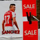 Merchandise of Alexis Sanchez on sale