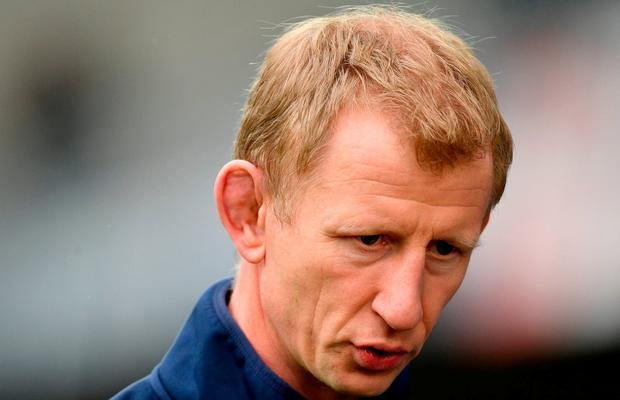 Leinster head coach Leo Cullen ahead of the European Rugby Champions Cup Pool 3 Round 6 match between Montpellier and Leinster at the Altrad Stadium in Montpellier, France. Photo by Ramsey Cardy/Sportsfile