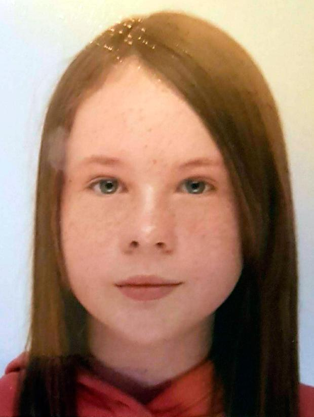 Undated handout photo issued by West Yorkshire Police of Ursula Keogh as police looking for the missing 11-year-old have on Monday found the body of a young female in the River Calder at Paris Gates in Halifax. Photo: West Yorkshire Police/PA Wire
