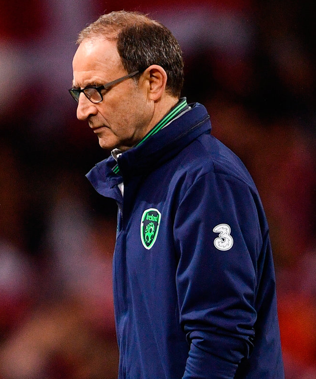Ireland manager Martin O'Neill has signed a new two-year deal with the FAI. Photo: Sportsfile