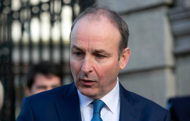 Fianna Fáil leader Micheál Martin. Photo: Gareth Chaney, Collins