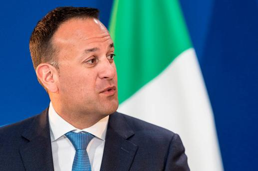 Leo Varadkar is accused of showing a 'posh boy' attitude. AP Photo