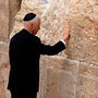 US Vice President Mike Pence during a visit to the Western Wall in Jerusalem, Israel. Photo: Getty Images
