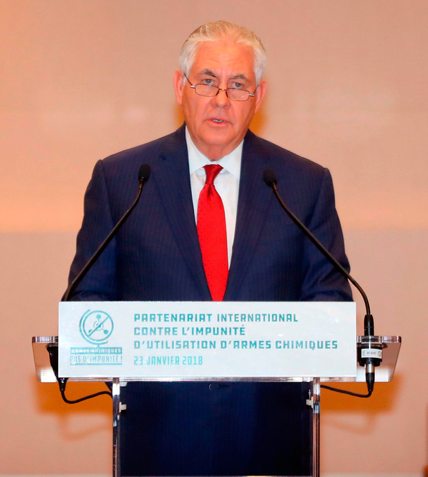 US Secretary of State Rex Tillerson. Photo: Getty Images