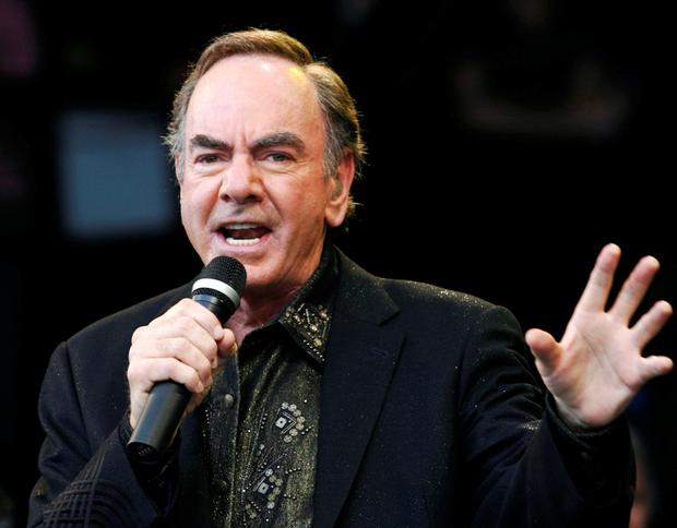 Neil Diamond is quitting the road after illness diagnosis. Photo: Luke MacGregor