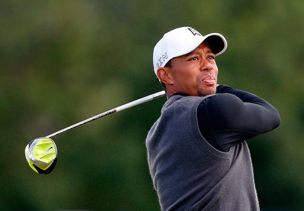 Tiger Woods. Pic: PA Wire