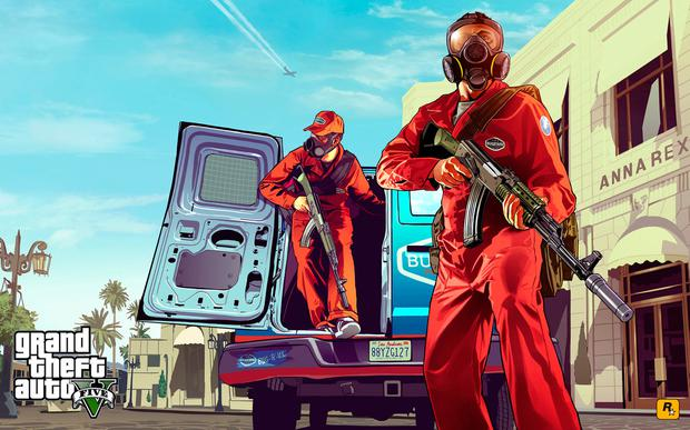 Grand Theft V was a big seller for GameStop – but the firm was still left with losses.