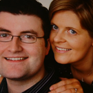 Lesley-Anne Stephens with her husband Darren. Photo: Prime Time