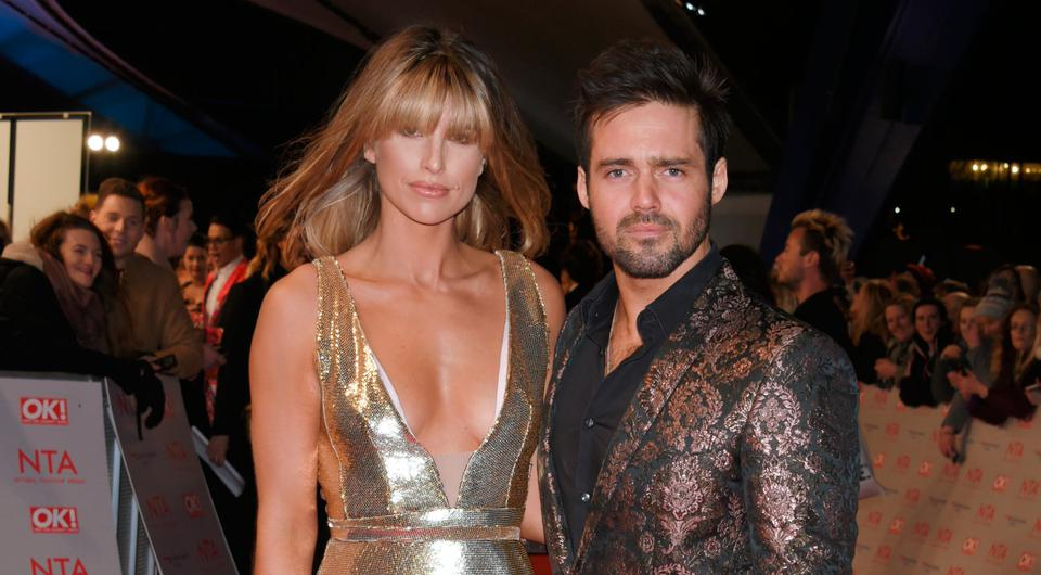 Vogue Williams (L) and Spencer Matthews attend the National Television Awards 2018 at The O2 Arena on January 23, 2018 in London, England. (Photo by David M. Benett/Dave Benett/Getty Images)