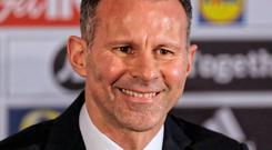 Wales manager Ryan Giggs. Photo: Athena Pictures/Getty Images