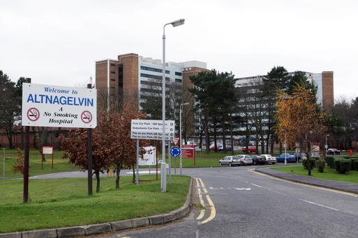 Existing arrangements – such as the availability of the radiotherapy Unit at Altnagelvin Hospital in Derry to patients from Donegal– would not be affected by Brexit. (Image Belfast Telegraph)