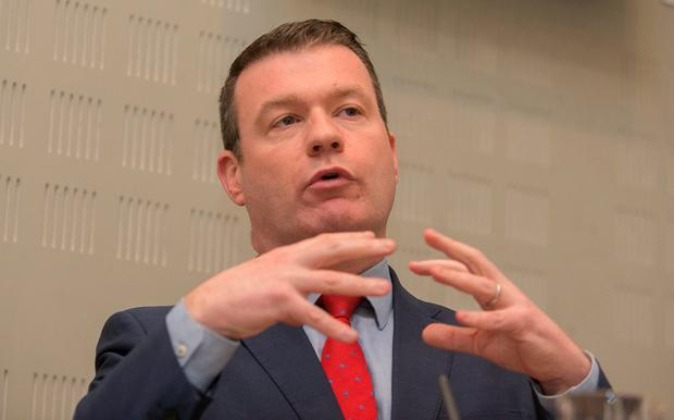Labour Party TD Alan Kelly called on the Justice Minister to become actively involved in the review of Garda statistics. Photo: Gareth Chaney, Collins