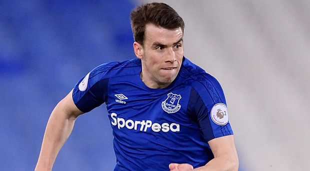 Seamus Coleman in Everton squad for Leicester City game