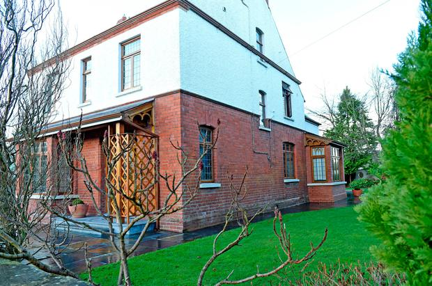 The Aughnacloy home where Pat Davison was injured. Photo: Photopress Belfast