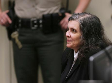 Defendant Louise Anna Turpin appears in court in Riverside, Calif., Wednesday, Jan. 24, 2018. (Terry Pierson/The Press-Enterprise, Pool)