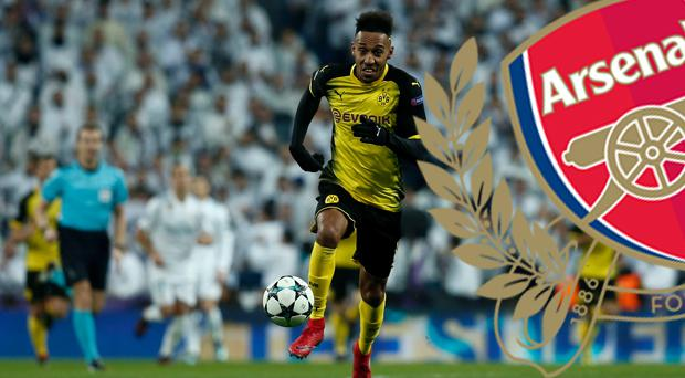 Pierre-Emerick Aubameyang is joining Arsenal