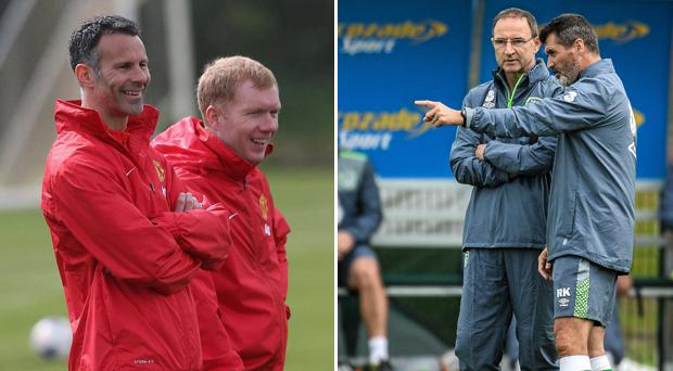 New Wales coach Giggs confirms Scholes talks