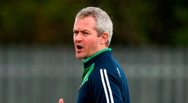 London manager Ciaran Deely is looking forward to Carlow's visit tomorrow. Photo: Seb Daly/Sportsfile