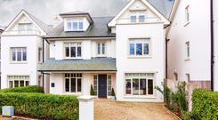 Number 7 Glencarraig has 3,100 sq ft of accommodation over three floors