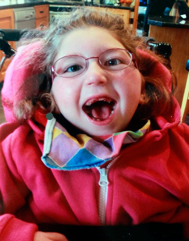 Katie Manton (9), from Cashel, suffers from cerebral palsy