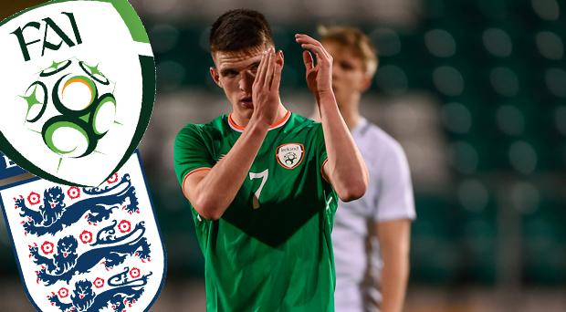 Gareth Southgate and England keeping tabs on Ireland underage star