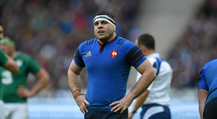 13 February 2016; Guilhem Guirado, France. RBS Six Nations Rugby Championship, France v Ireland. Stade de France, Saint Denis, Paris, France. Picture credit: Ramsey Cardy / SPORTSFILE