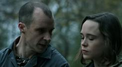 Tom Vaughan Lawlor and Ellen Page in The Cured