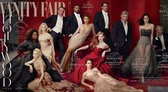 Vanity Fair cover shot by Annie Leibovitz exclusively for Vanity Fair
