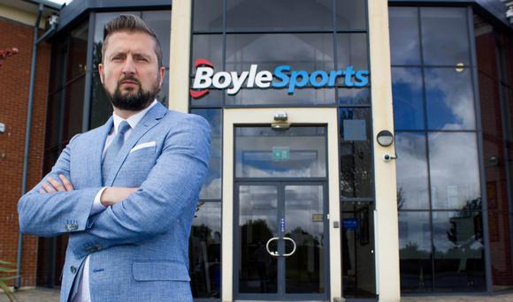 Conor Gray, CEO of BoyleSports