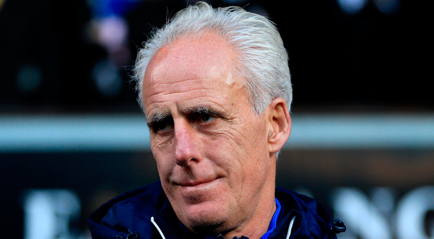 Ipswich Town Manager Mick McCarthy. Photo: Getty Images