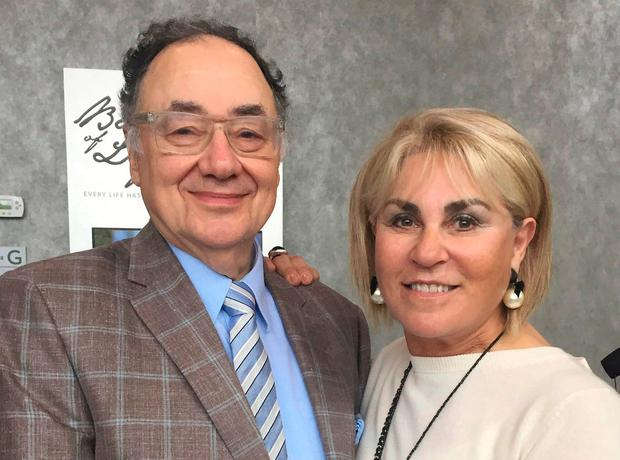Barry Sherman and his wife Honey who were found dead in Toronto, Ontario, Canada. Photo: AP