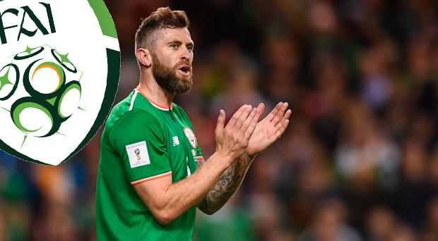 Daryl Murphy has retired from international football