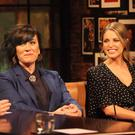 Maria Doyle Kennedy and Amy Huberman on The Late Late Show