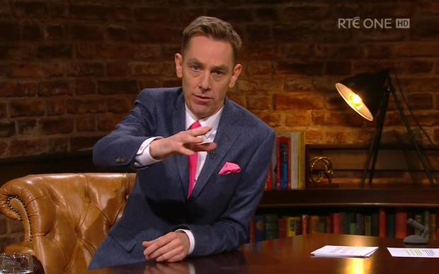 Ryan Tubridy addresses smart phone safety on The Late Late Show